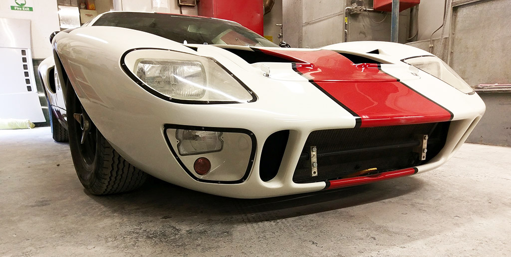 GT40 Race Car Repair